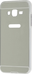 iSelf Hard Back Cover Mirror Samsung J3 2016 Silver