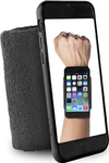 Puro Sport Running Wristband Black (iPhone 6/6s)