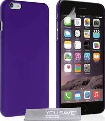 YouSave Accessories Hard Hybrid Case Purple (iPhone 6/6s Plus)