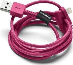 Urbanears Angle (90°) Braided USB to Lightning Cable Ροζ 1.2m (04091092)