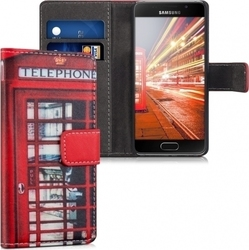 KW Synthetic Leather Case London Telephone (Galaxy A3 2016)