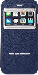 Melkco Face S-View Book Case Dark Blue (iPhone 6/6s)