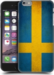 Art Telecom Back Cover Flag Sweden Retro Style (iPhone 6/6S Plus)