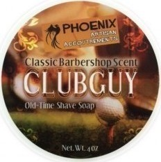 Phoenix Artisan Accoutrements Clubguy Old-Time Shave Soap 114gr