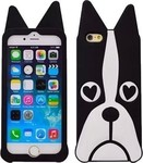 OEM 3D Silicone Dog Black (iPhone 5/5s/SE)