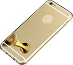 OEM Silicone Mirror Slim Fit Gel Gold (iPhone 6)