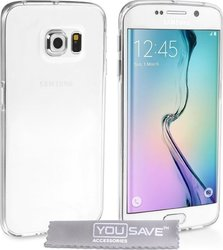 YouSave Accessories Ultra Slim 0.3mm Silicone Transparent (Galaxy S6 Edge)