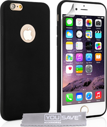 YouSave Accessories Ultra Slim 0.3mm Silicone Slim Black (iPhone 6 Plus)