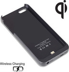 OEM Ultra Slim 0.3mm Ασύρματης Φόρτισης Qi Wireless Charging Black (Apple iPhone 5S)