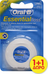 Oral-B Essential Floss Ακήρωτο 50m 2τμχ