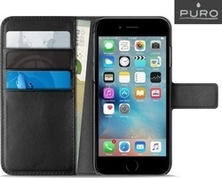 Puro Flip Wallet Black (iPhone 7 Plus)