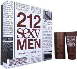 Carolina Herrera 212 Sexy Men Eau de Toilette 100ml & Aftershave Balm 100ml