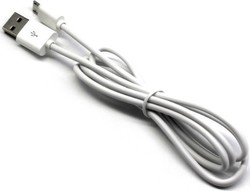 Ldnio Regular USB 2.0 to micro USB Cable Λευκό 1m (SY03)
