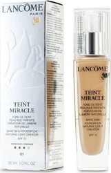 Lancome Teint Miracle Bare Skin Foundation Natural Light Creator SPF15 01 Beige Albatre 30ml