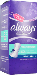 Always Dailies Fresh & Protect Large 26τμχ