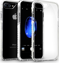 Orzly Fusion Bumper Clear Λευκό (iPhone 8/7 Plus)