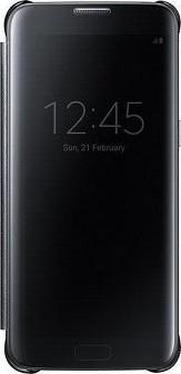 huge selection of b8432 612ef Flip Wallet Clear View Μαύρο (Galaxy J7 2016)