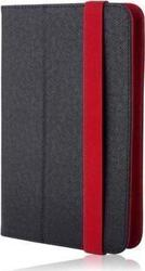 iNOS Universal Foldable Wrapper Black/Red 7-8""