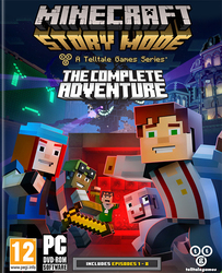 Minecraft Story Mode A Telltale Games Series (The Complete Adventure) PC