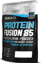 Biotech USA Protein Fusion 85 454gr Φράουλα