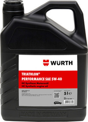 Wurth Triathlon Performance 5W-40 5lt