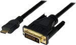 StarTech Cable DVI-D male - mini HDMI male 3m (HDCDVIMM3M)
