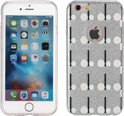 Remax Back Cover Μοτίβο Glitter Play Dots (iPhone 6/6s Plus)