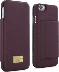 Ted Baker Oxblood Card Slot Folio Καφέ (iPhone 7)