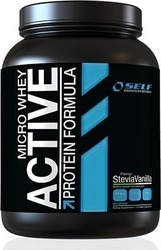 Self Omninutrition Micro Whey Active 1000gr Stevia Σοκολάτα