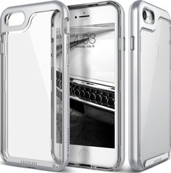 Caseology Skyfall Series Clear - Silver (iPhone 8/7)