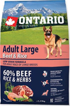Ontario Adult Large Beef & Rice 2.25kg