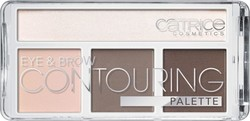 Catrice Cosmetics Eye & Brow Contouring Palette 010 But First, Cold Chocolate!