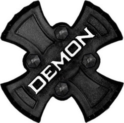 DEMON ZEUS SNOWBOARD STOMP PADS Black
