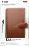 Hori Game Card Case Brown DS
