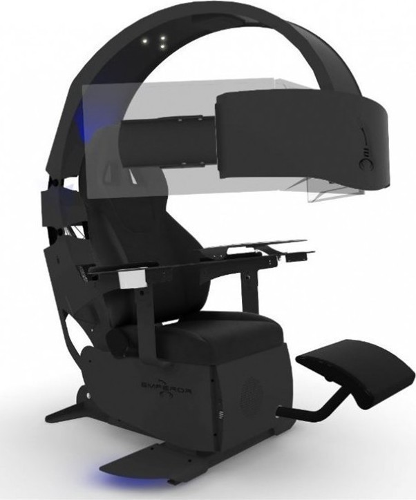 Mwe Lab Emperor Xt Gaming Chair Pc Black Skroutz Gr