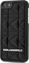 Karl Lagerfeld Quilted Back Cover Μαύρο (iPhone 6/6s Plus)