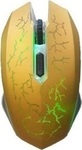 OEM High Blu Ray Led Wired Gaming Mouse Gold