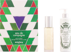 Sisley Paris Eau de Campagne Eau de Toilette 100ml & Shower Gel 250ml