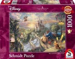 Kinkade: Disney: The Beautiful and The Beast 1000pcs (59475) Schmidt