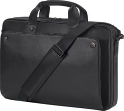 HP Leather Black Top Load 17.3""