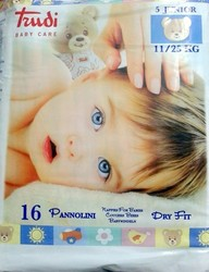Trudi Baby Care No 5 (11-25 Kg) 16τμχ