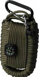 Mil-Tec Paracord Survival Kit Small - Olive 16027701