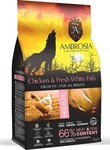 Ambrosia Chicken & Fish Large Breed 2kg