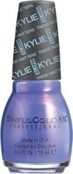 SinFulColors Kylie Jenner Trend Matters Pure Satin Mattes 2133 Purple Kraze
