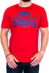 Lonsdale Logo 119083 Red