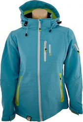GEOGRAPHICAL NORWAY TEMPETE JACKET WN686F SIEL ΤΥΡΚΟΥΑΖ