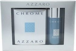Azzaro Chrome Set Eau de Toilette 50ml & Deo Spray 75ml
