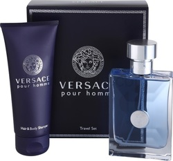Versace Pour Homme Set Eau de Toilette 50ml & Shower Gel 100ml