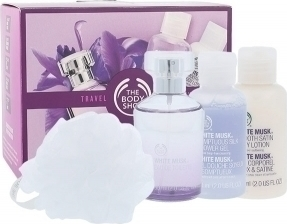 Προσθήκη στα αγαπημένα menu The Body Shop White Musk Eau de Toillete 60ml    Shower Gel 60ml   BOdy Lotion 8d7e54ee363