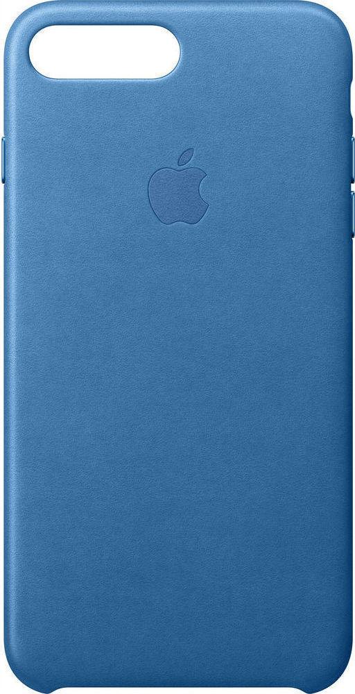buy online 0e812 0abf1 Apple Leather Case Sea Blue (iPhone 8/7 Plus)